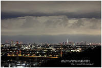 東京のお空 - 明日には明日の風が吹く