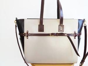 オーダーのベルト/トートバッグ☆ - バッグ、お財布、革小物のオーダーメイドMaalli<マァリー>