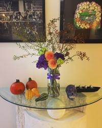 ハロウィーンのテーブルクラス - L.A.B.style