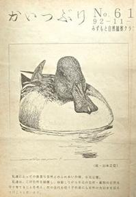 『自然画作品 機関誌 表紙画』 みずもと自然観察クラブ -  スケッチ感察ノート