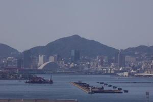 神戸市全景、トワイライトと金星 - 風の向くまま!