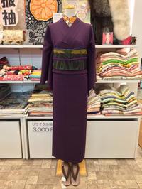 ハロウィンな色味の紬コーディネート♫ - Tokyo135° sannomiya