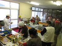 ボンジュール彦岳主催の料理教室が開催されました! - さいき食のまちづくり