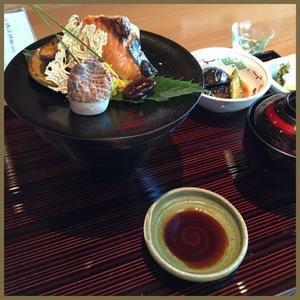 """久しぶりに丸の内の日本料理""""たまさか""""へ - やさしい光のなかで"""