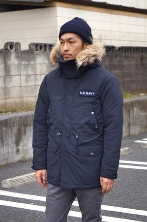 uniform experiment - PADDED MILITARY FUR COAT. - UNDERPASS・・・Having fun!!!