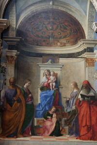 ベッリーニ最後の最高傑作、サン・ザッカリア教会 - ヴェネツィア ときどき イタリア・2
