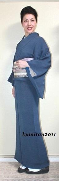 今日の着物コーディネート♪(2016.10.26)~江戸小紋&博多帯編~ - 着物、ときどきチロ美&チャ美。。。リサイクル着物ハタノシイナ♪