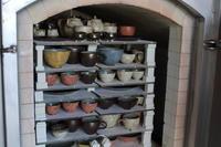 陶器市に向けての窯焚き終わりました。 - 小林雄一 西山奈津 陶芸日記