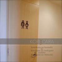 || セリアとH&Mでトイレの中も男前♪ そしてリビングのハロウィン || - コレカラ