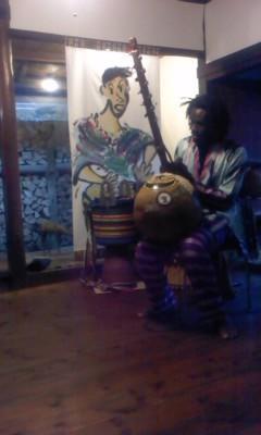 今日はアフリカ音楽会でした。 - gallery 土の詩