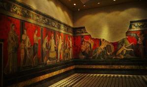 大塚国際美術館(2)ポンペイ・秘儀の間壁画 - たんぶーらんの戯言