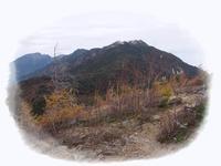 2016/10/22-23 鳳凰三山縦走(一日目) - ロコの山迷記-Ⅱ