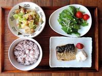 10/29(土) 飯の朝、麺の昼 - おひとりさまの食卓plus
