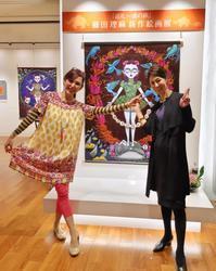 藤田理麻さんの新作個展『巡礼 魂の旅』へ。 - 八巻多鶴子が贈る 華麗なるジュエリー・デイズ