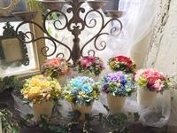 テーブル装花のご注文 - *kiko's  diary* 京都でプリザやリースなどの花雑貨とお庭のお店[Breath Garden]をしています!