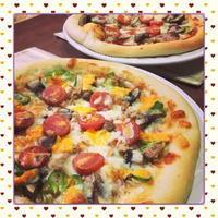 冷蔵庫の残りものをトッピング!お家でお手軽に、簡単本格手作りピザ(レシピ付) - kajuの■今日のお料理・簡単レシピ■