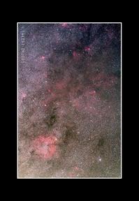 2016年11月1日 ケフェウス座IC1396付近@坂内 - Painter,with nature-Photo