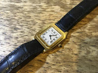 cartier カルティエ サントス 手巻き腕時計修理 - トライフル・西荻窪・時計修理とアンティーク時計の店