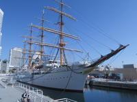 ねこ写真展と横浜の一日<1> 帆船日本丸 - ニッキーののんびり気まま暮らし