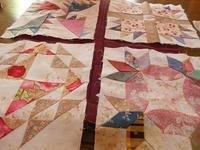 それぞれのラティスカラー - eri-quilt日記2