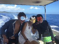 apple watch2で海三昧&素潜り in 久米島 - jojoたんの無駄無駄日記。。