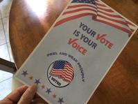 アメリカ選挙いよいよです - ちょっと田舎暮しCalifornia