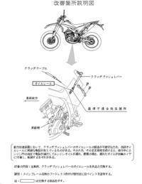 WR250Xリコール情報 - マーチとバイク