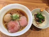 金沢(玉鉾):自家製麺のぼる 「シャモ&コーチン」 - ふりむけばスカタン