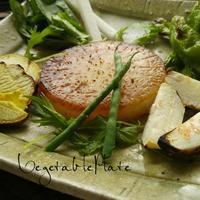 今朝のワンプレート大網白里の野菜たち - 料理研究家ブログ行長万里  日本全国 美味しい話