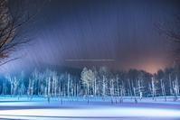 嵐の青い池 - Photo 森の声