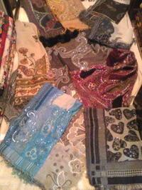 手織りストール。 - ゆる〜くmavi日記