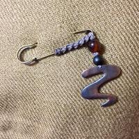 【マクラメ&ヘンプ】#87 ピアスのストールピン&お知らせ - Shop Gramali Rabiya   (SGR)