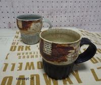 秋陶器市の作品② - concept-if~黄昏色の器たち~