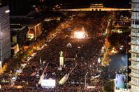 ソウル、大規模デモによる無料配達地域の制限に関して - アンニョン! ハーモニーマート 明洞 ブログ★