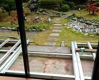 ロビーテラスの改修おわりました - 金沢犀川温泉 川端の湯宿「滝亭」BLOG
