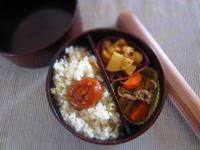 お弁当 焼肉風野菜炒め - 恵茶房 meg tea labo