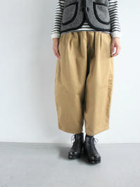 Ordinary fits BALL PANTS (LADIES ONLY) - 『Bumpkins putting on airs』