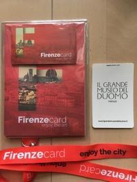 フィレンツェ・カード - Firenze&Toscana Photoravel 日記