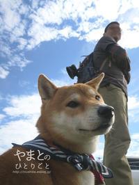 ガーディを連れて - yamatoのひとりごと