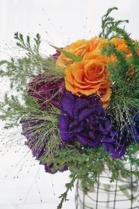 歓びのブーケ♪ - お花に囲まれて