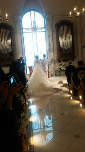 ステキな結婚式でした( ´∀`) - 脱毛・ネイル専門アンジェリ・スタッフブログ