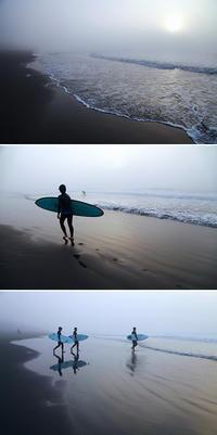 2016/11/20(SUN) 波ありますが濃 霧で見えません。 - SURF RESEARCH
