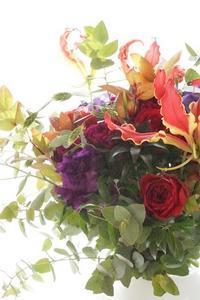 目的に合わせて…ブーケコース集中レッスンいたします - お花に囲まれて