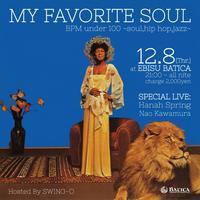 My Favorite Soulは今週8日木曜日です!! - Jazz Maffia BLOG