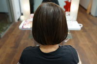 強い癖の弱い髪質を縮毛矯正で自然に伸ばしました(^o^) - 浜松市浜北区の美容室 SKYSCAPE(スカイスケープ) 店長の鶸田(ひわだ)のブログです