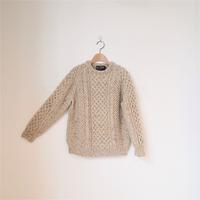 < H.ROBINSON KNITTING > Hand Knit Cable P/O (unisex) - clothing & furniture 『Humming room』