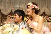 秋の装花 HANZOYA様へ、二人が過ごした7年の季節を、花で - 一会 ウエディングの花