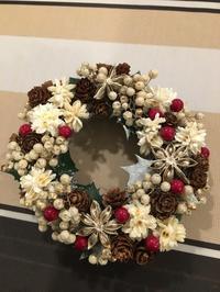 12月3日(土)クリスマスリース(生リース)を作ろう! - Flower&Dining PALETTE