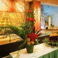 Halloween Flower Event at Oberlin University in 多摩センター - フラワースクール 横浜 Champs Fleuris Izmi (シャン フルーリー イズミ)