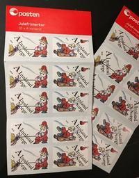 今年のクリスマス切手 - ノルウェーとゆえの王国☆ Norway and Yue's kingdom